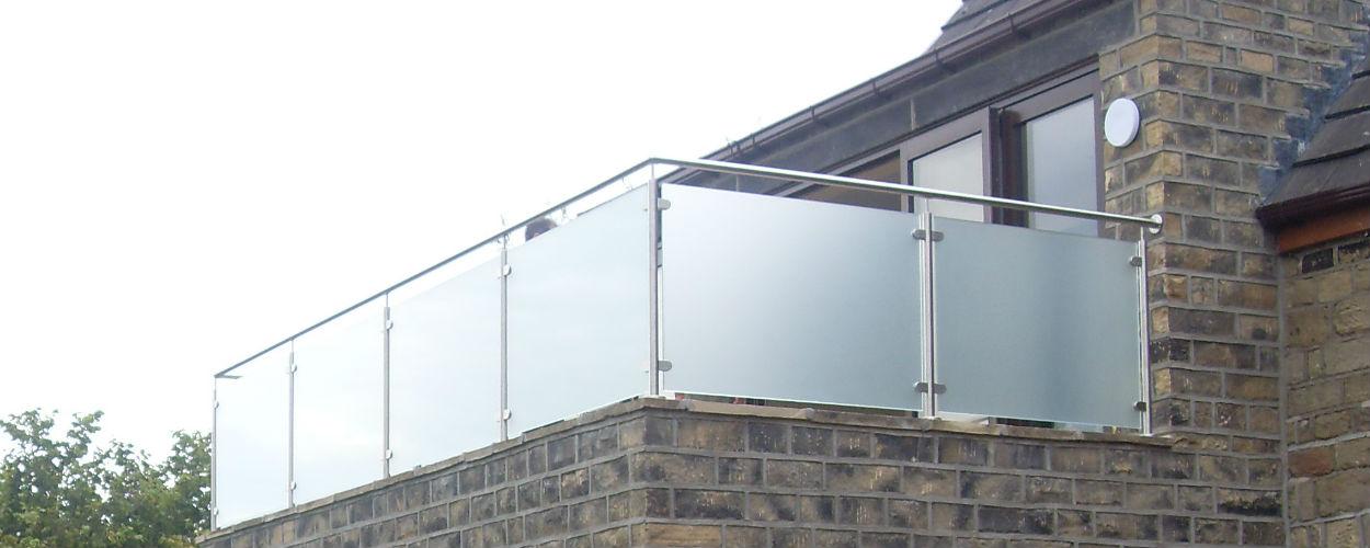 Glass Ballustrade